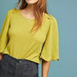 Anthro Sunday in Brooklyn Astley Blouse Small